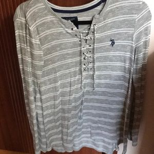 Polo long sleeve shirt